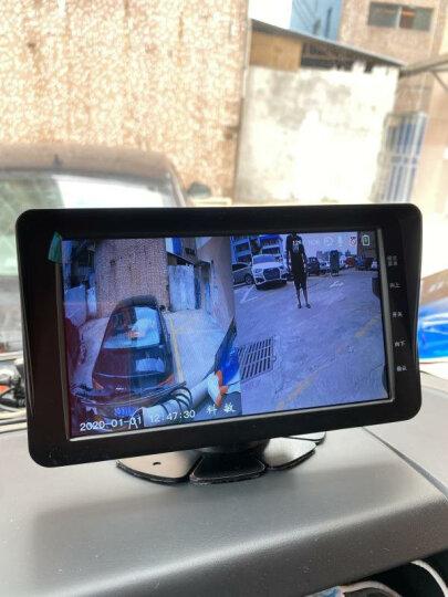 迪斯玛 货车行车记录仪TS010 双镜头 高清 四路头 车载倒车影像 24V 20米以上的加长线请联系在线客服 晒单图