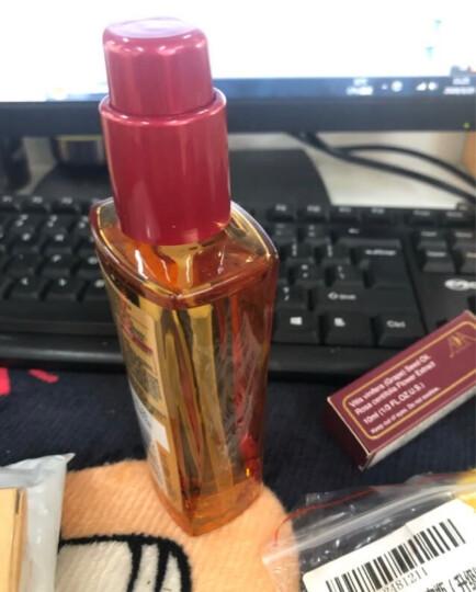 欧莱雅(LOREAL)奇焕润发护发精油100ml( 小金瓶 针对所有发质  免洗 滋养 防毛躁)(新老包装随机发货) 晒单图