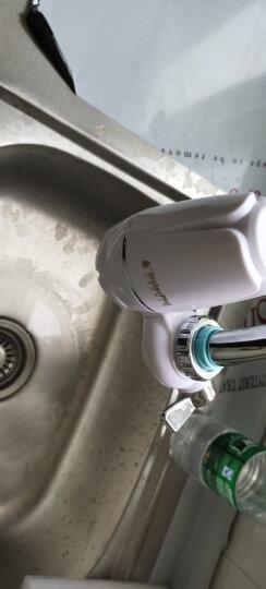 water plus沃德加家用净水龙头过滤器厨房自来水陶瓷净水机/陶瓷滤芯/方便安装 1机5芯新锐款 晒单图