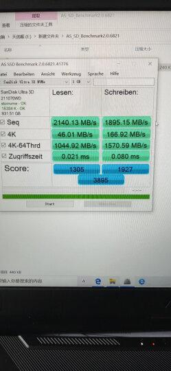 闪迪(SanDisk)250GB SSD固态硬盘 SATA3.0接口 至尊3D进阶版-更高速读写|西部数据公司荣誉出品 晒单图