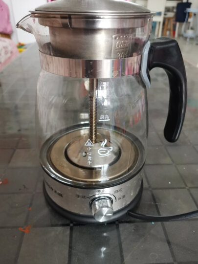 志高(CHIGO) 黑茶壶煮茶器蒸汽喷淋玻璃壶电热水壶电煮茶壶全自动保温泡茶养生壶Z506升级保温款 升级带保温+公道杯套装 晒单图