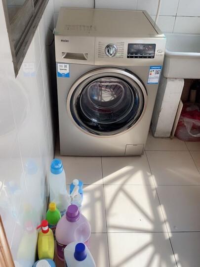 海尔(Haier) 10KG全自动BLDC变频滚筒洗衣机 EG10014B39GU1 晒单图