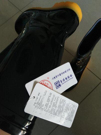 回力雨鞋男士中高筒防水雨鞋户外雨靴套鞋 HXL807 黑色高筒 42码 晒单图