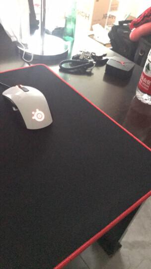 灵蛇(LINGSHE)鼠标垫 900*400*4 超大加厚办公游戏鼠标垫 精密锁边 可水洗P16黑色 礼盒装 晒单图