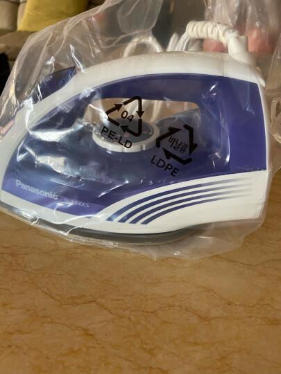 松下(Panasonic)电熨斗家用 手持蒸汽挂烫机 五档调温 高温蒸汽 NI-E500CS 深蓝色 晒单图
