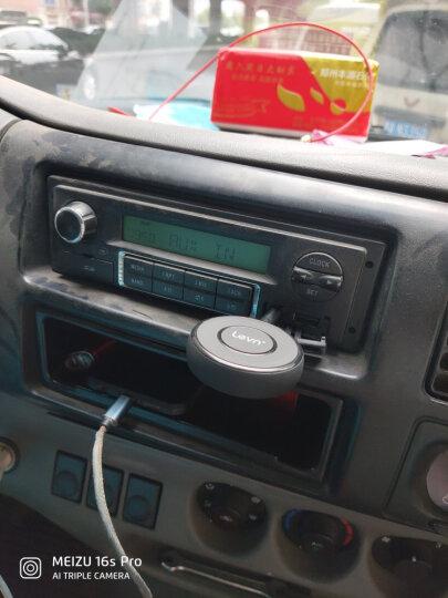 乐朗 aux车载蓝牙接收器5.0音频适配器3.5mm转无线音响音箱耳机功放汽车车用免提通话 【017C】内置电池版-听歌通话-送硬链接 晒单图