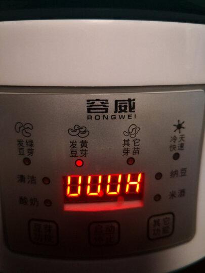 容威 豆芽机家用全自动智能大容量双层三层发豆芽生豆芽多功能纳豆米酒酸奶机HTD-9002 浅蓝色 双层+1蓄水压盘 晒单图