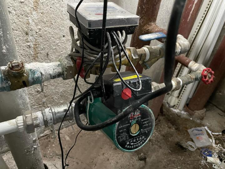 名磊家用暖气泵地暖循环泵热水泵220v小型屏蔽泵地热管道锅炉暖气循环水泵  4分口165W3档暖气泵(10年换新) 晒单图