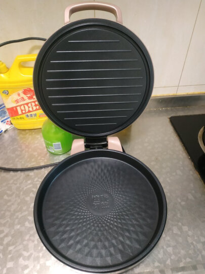 美的(Midea)电饼铛家用煎烤机早餐机烙饼机三明治机电饼铛面包机烙饼锅双面悬浮加热WJCN30D 晒单图