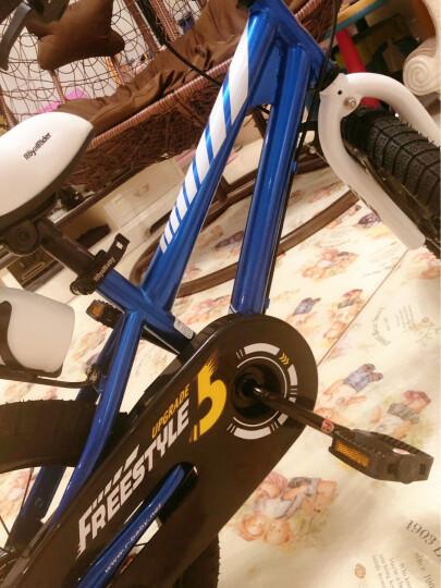 优贝(RoyalBaby)儿童自行车 小孩单车男女童车 宝宝脚踏车山地车 3岁5岁7岁9岁 表演车14寸 橙色 晒单图