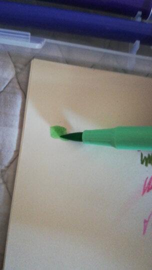 晨光(M&G)文具18色软头水彩笔 纤维头可水洗绘画彩笔 儿童涂鸦画笔 18支/盒ACP92168 晒单图