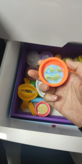孩之宝(Hasbro)培乐多彩泥橡皮泥模具DIY男女孩儿童玩具礼品 小麦粉制作 创意厨房系列 冰激凌甜点套装E0042 晒单图