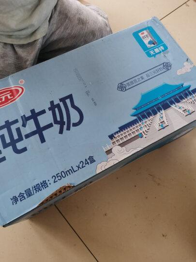 三元 小方白纯牛奶 250ml*24礼盒装 晒单图