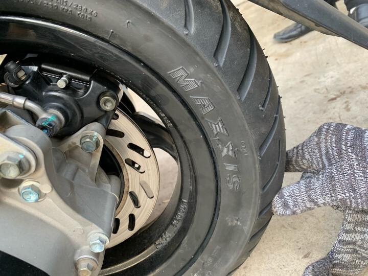 玛吉斯(MAXXIS)摩托车轮胎M6029踏板车胎小牛电动车跑车外胎半热熔轮胎 玛吉斯M66029  110-80-10 晒单图