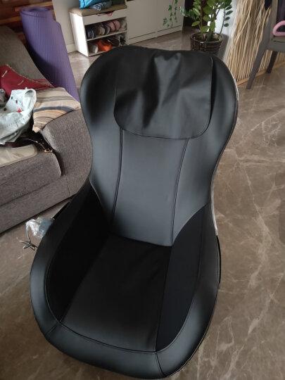 久工(LITEC)按摩椅家用多功能沙发 小型全身日式摇摇椅智能音乐全自动加热迷你型按摩椅 黑色内饰 晒单图