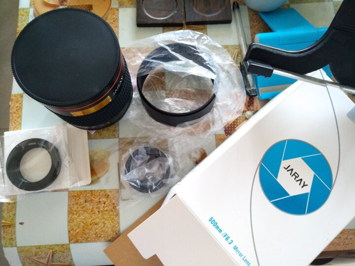 嘉蕊(JARAY)500mm F6.3全画幅折返镜头/单反微单相机手动长焦远拍摄影镜头 标配 尼康口-白色 晒单图