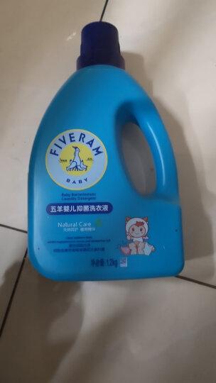 五羊(FIVERAMS)婴儿抑菌洗衣液儿童洗衣液 内衣手洗洗衣液 新生儿洗衣特惠套装新旧包装随机发货 宝宝专用1.2kg×3瓶 晒单图
