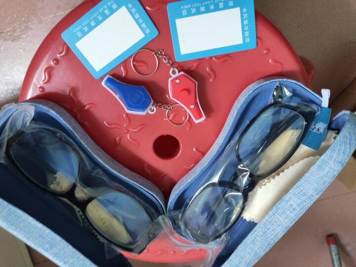 百飒防辐射眼镜防蓝光男士手机抗疲劳近视电脑游戏护目镜男女款平光眼镜框架可配变色近视眼镜男 配1.61防蓝光近视镜片(建议0-600) 晒单图