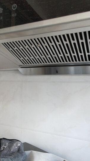 老板(Robam) 侧吸大吸力油烟机燃气灶具智能消毒柜/碗柜套装三件套27N1H+37B0+727 天然气 晒单图