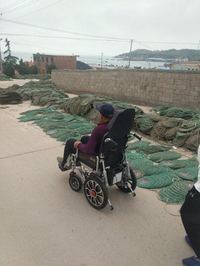 好哥(haoge)电动轮椅老年人折叠轻便轮椅车老年残疾人轻便代步车全躺半躺带坐便器锂电池 豪华全躺减震铅酸12AH+坐便器 晒单图