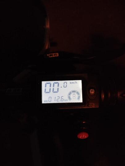 新日(Sunra) 电动自行车折叠电动车锂电池滑板车成人男士女士新国标迷你小型电瓶车代驾代步单车 标准版【神秘黑】汽车电芯 助力续航60公里 晒单图