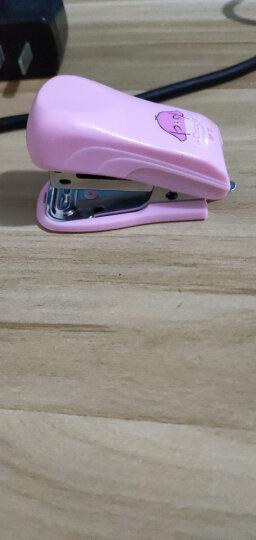 晨光(M&G)文具12#蓝色小型便携订书机 学生办公迷你订书器组合套装(订书器+订书钉)ABS91649 晒单图
