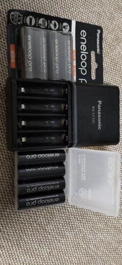 松下爱乐普(eneloop)充电器可充5号7号五号七号电池计时式标准充电器BQ-CC51C无电池 晒单图