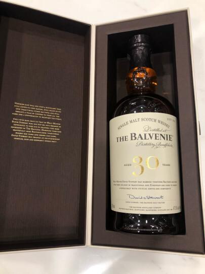 宝树行 The Balvenie 百富单一纯麦苏格兰威士忌700ml原装洋酒 苏格兰百富17年700ML 晒单图