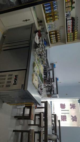 乐创(lecon)冷藏工作台商用冷柜操作台冰柜保鲜冷藏操作台冷冻冰柜厨房卧式冰箱双温不锈钢平冷水吧台 蓝光版1.8米宽度可选 全冷藏(保鲜) 晒单图