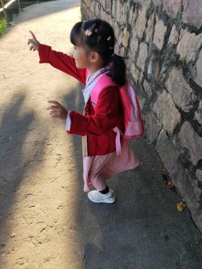迪士尼(Disney)书包女小学生书包 米妮卡通儿童书包1-2年级减负双肩背包 M606031玫红 晒单图