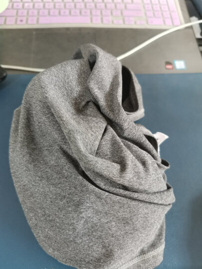 bodydream 运动背心男健身跑步训练紧身透气无袖T恤潮 麻灰色 XL 晒单图