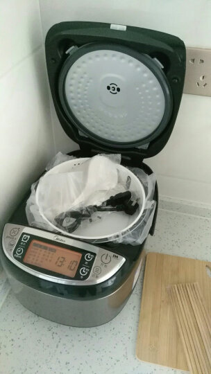 美的(Midea)电饭煲电饭锅5L大容量钛金釜内胆IH电磁加热米饭口感可选多功能电饭煲MB-WFZ5099IH 晒单图