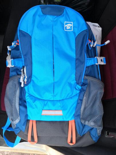 探路者(TOREAD) 登山包 户外男女通款30升双肩背包 徒步旅行背包 ZEBF80609 湖蓝/铁矿蓝 晒单图