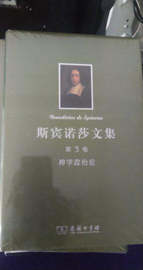 斯宾诺莎书文集(第1卷):简论上帝、人及其心灵健康 知性改进论 晒单图