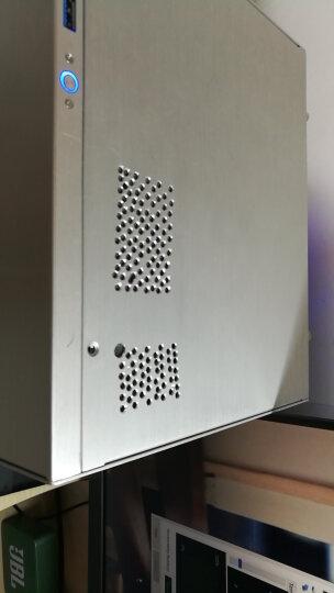 乔思伯(JONSBO)C2 银色 MINI机箱(支持24.5*21.5CM尺寸内主板/全铝机箱/ATX电源/80MM高内散热器) 晒单图