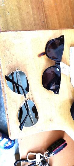 雷德蒙日夜两用变色偏光太阳镜男司机夜间驾驶眼镜女夜视镜开车专用眼睛防远光灯飞行员墨镜蛤蟆镜 银色框 水银偏光片(送夜视镜)(再送墨镜) 晒单图
