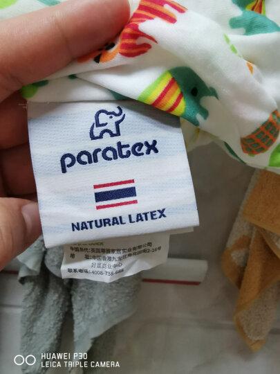 paratex 泰国进口天然乳胶枕头 枕芯 人体工学型儿童枕头2-8岁 94%乳胶含量 礼盒装 晒单图