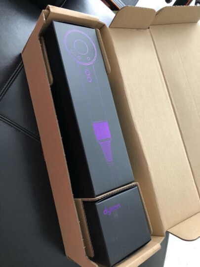 戴森(Dyson) 吹风机 Supersonic 臻选礼盒版 电吹风 进口家用 HD01 黑紫色 晒单图
