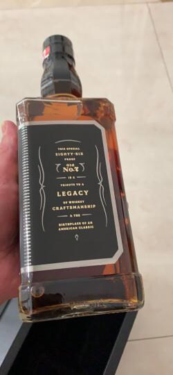 杰克丹尼(Jack Daniel`s)洋酒 美国田纳西州 威士忌375ml 晒单图