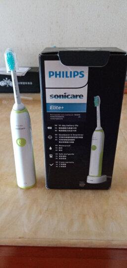 飞利浦(PHILIPS) 电动牙刷 成人声波震动(自带刷头*1) 清新洁净 绿色 HX3216/31(新老包装随机发货) 晒单图