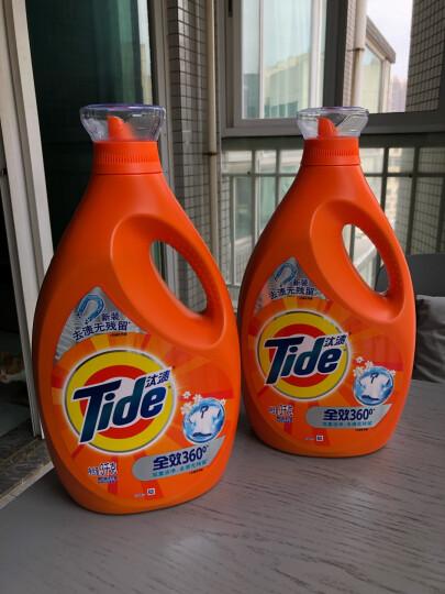 汰渍 Tide 洁净除菌洗衣液(洁雅百合香)3kg*2 超值套装12斤 家庭装(新旧香型随机发货) 晒单图