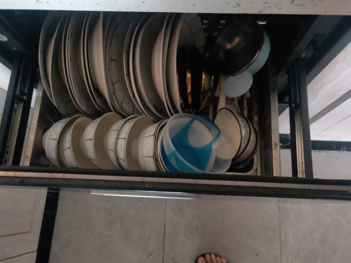 森太(SETIR) F280B消毒柜嵌入式家用厨房碗筷消毒碗柜 白色钢管款 晒单图
