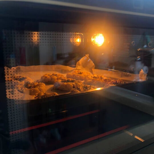 长帝(changdi)32升家用多功能电烤箱搪瓷内胆上下管独立调温低温发酵全功能高配置家庭用烤箱CRTF32PD 晒单图