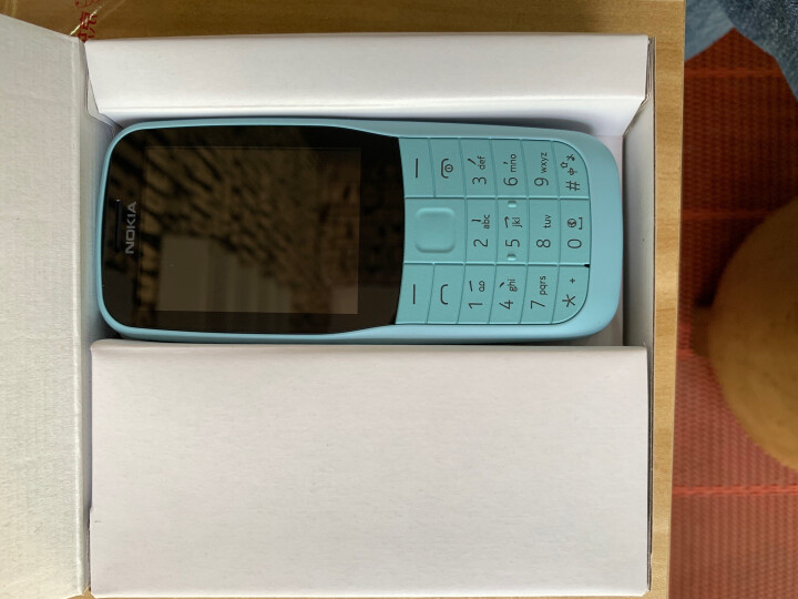 诺基亚(NOKIA)新105 蓝色 直板按键 移动联通2G手机 双卡双待 老人手机 学生备用功能机 晒单图