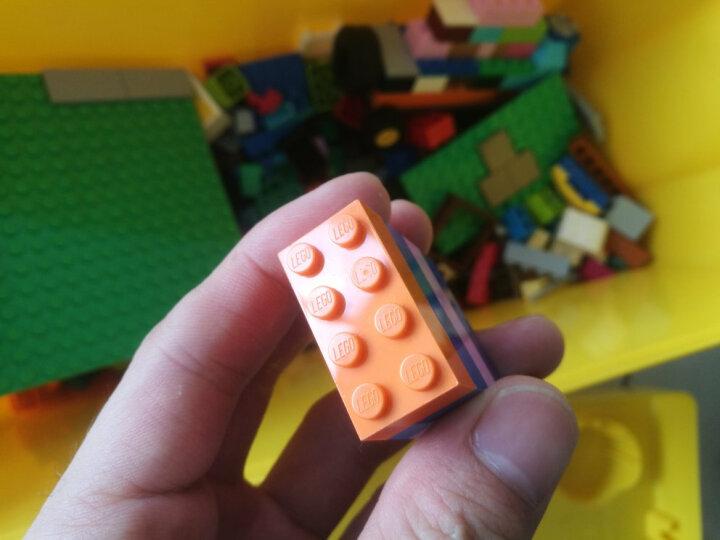 乐高(LEGO)积木 经典创意10698 大号积木盒 4-99岁 儿童玩具 男孩女孩 生日礼物 小颗粒 晒单图