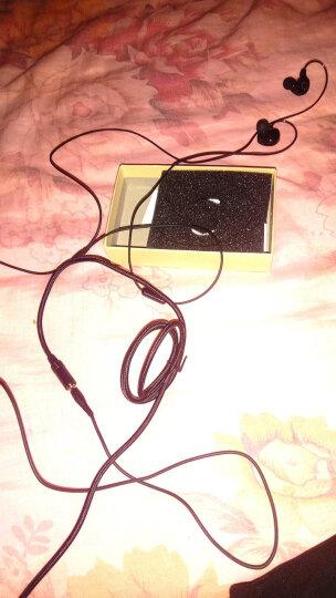 wedoking 电脑耳机入耳式耳麦台式机双插头笔记本网课学习主播电竞游戏吃鸡带麦挂耳式耳机 双动圈白色【电脑手机两用】 晒单图