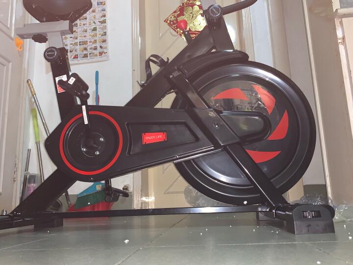 【蓝牙免费APP】英尔健(yingerjian)动感单车家用减肥器材室内健身器材静音健身车脚踏自行车 【店长推荐】蓝牙免费APP-精钢大飞轮 标准黑 晒单图