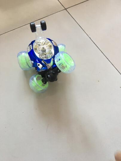 益米 儿童男孩玩具 遥控车翻斗车特技车 一键演示功能 可充电动赛车玩具车 晒单图