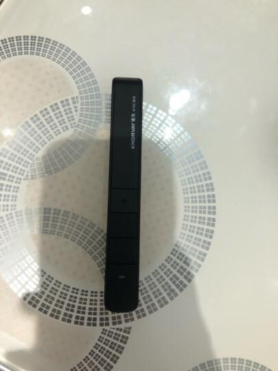 诺为 100m远控/醒目绿光/充电翻页笔 电子教鞭 翻页笔PPT激光笔 演示器 演示笔 N75C 绿光 黑色 晒单图