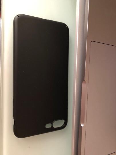图拉斯 苹果8plus手机壳 iPhone7/8plus/SE2保护壳超薄全包防摔磨砂抗指纹 【苹果8p/7p通用】中国红-送钢化膜 晒单图